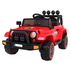 Samochód na akumulator Full Time 4WD napęd 4x4 czerwony
