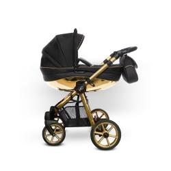 BABYACTIVE Wózek wielofunkcyjny 2w1 MOMMY GLOSSY GOLD
