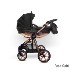 BABYACTIVE Wózek wielofunkcyjny 2w1 MOMMY GLOSSY ROSE GOLD