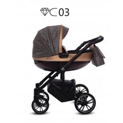 BABYACTIVE Wózek wielofunkcyjny 2w1 CHIC 03