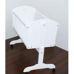 BR Kołyska łóżeczko dziecięce 90x40cm biała