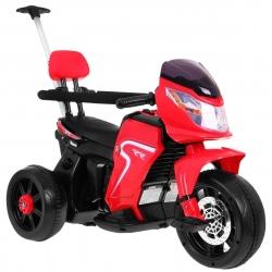 Motocykl motor na akumulator Motorek rowerek jeździk pchaczyk czerwony