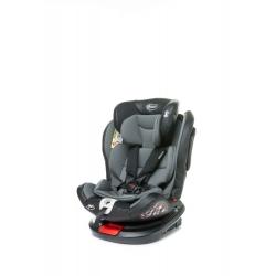 4BABY Fotelik samochodowy ROTO-FIX 0-36kg GREY