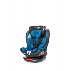 4BABY Fotelik samochodowy ROTO-FIX 0-36kg BLUE