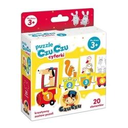 CzuCzu Puzzle Cyferki 3+