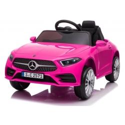 Samochód Auto na akumulator Mercedes CLS 350 Różowy