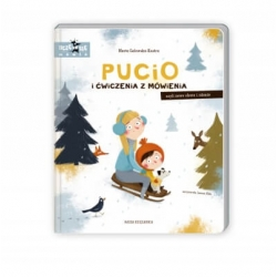 Nasza Księgarnia książeczka PUCIO i ćwiczenia z mówienia