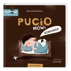 Nasza Księgarnia książeczka PUCIO mówi dobranoc