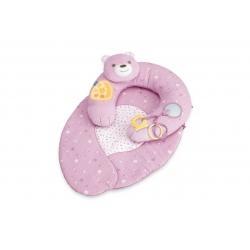 CHICCO Gniazdko z poduszką różowe