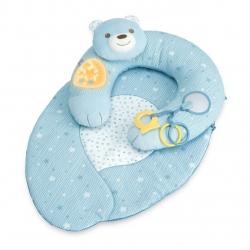 CHICCO Gniazdko z poduszką niebieskie
