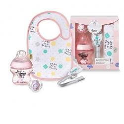 Tommee Tippee Zestaw prezentowy BABY GIFT różowy