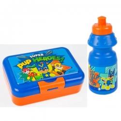 Bidon + pudełko śniadaniowe Psi Patrol girl STARPAK