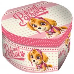 Pudełko na biżuterię z lusterkiem Psi Patrol