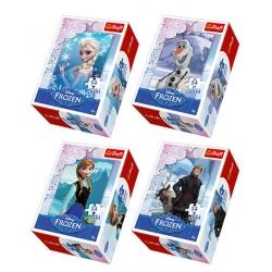 Puzzle 54el Mini Kraina Lodu Frozen
