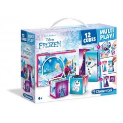 Clementoni Klocki obrazkowe 12el Multiplay Frozen 41503