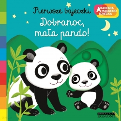 Akademia mądrego dziecka Pierwsze Słowa Dobranoc,mała pando