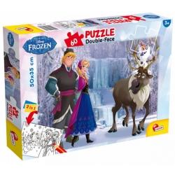 Puzzle dwustronne 60el Frozen 49295 LISCIANI