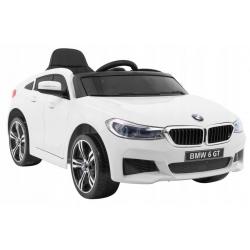 Samochód na akumulator BMW 6 GT Biały