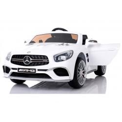 Samochód na Akumulator Mercedes SL65 MP3 Biały