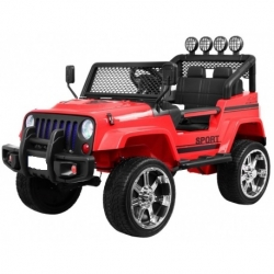 Auto pojazd na akumulator Raptor DRIFTER napęd 4x4 biały