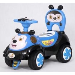 Jeździk pojazd dla dzieci PSZCZOŁA niebieski