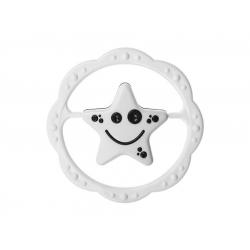 TULLO 156 Grzechotka czarno-biała gwiazdka