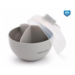 CANPOL 56/014 Pojemnik na mleko w proszku szary