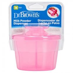 Dr.Browns AC038 Pojemnik na mleko w proszku różowy