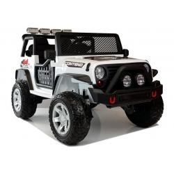 Auto na akumulator JEEP 4x4 biały