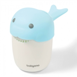 B.O.1344/01 Kubek do mycia głowy Whale niebieski