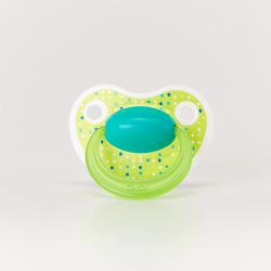 bibi 112939 Smoczek ortodontyczny HAPPY LOVELY DOTS zielony