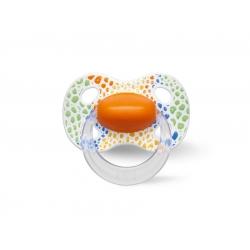 bibi 114057 Smoczek natural HAPPY WILD pomarańczowy