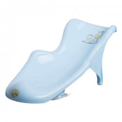 MALTEX Fotelik do kąpieli Zebra jasny niebieski