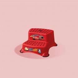 KEEEPER 1549 IGOR CARS Dwustopniowy podest antypoślizgowy czerwony