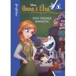 Książka Anna przejmuje dowodzenie Kraina Lodu