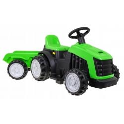 Traktor z Przyczepą Zielony