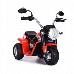 Motocykl motor na akumulator Motorek MiniBike Harley czerwony