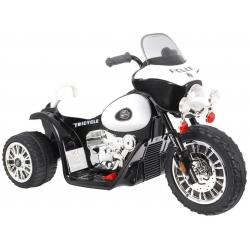 Motorek Skuter Chopper Czarny