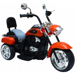 Motorek Chopper NightBike Pomarańczowy