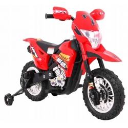 Motorek CROSS Czerwony