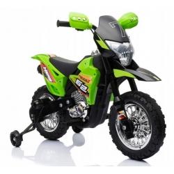Motorek CROSS Zielony