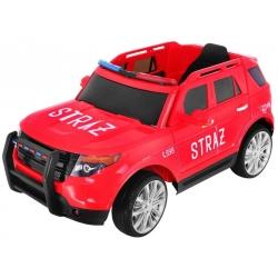 Samochód na akumulator SUV Straż Pożarna