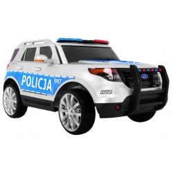 Samochód na akumulator SUV Policja