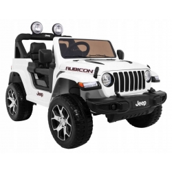 Auto na akumulator Jeep Wrangler Rubicon Biały