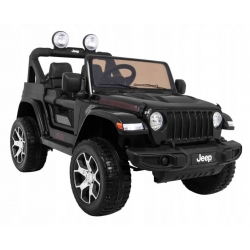 Auto na akumulator Jeep Wrangler Rubicon Czarny