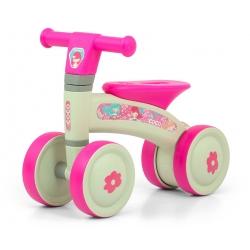 MILLY MALLY Rowerek czterokołowy Coco pink